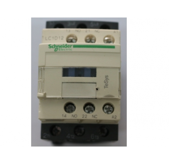 Magnetic contactor 3 pole 12A