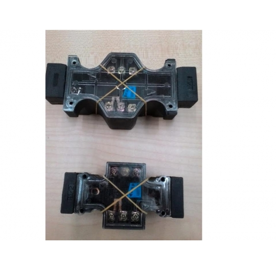 Hydraulic coil / terminal assembly