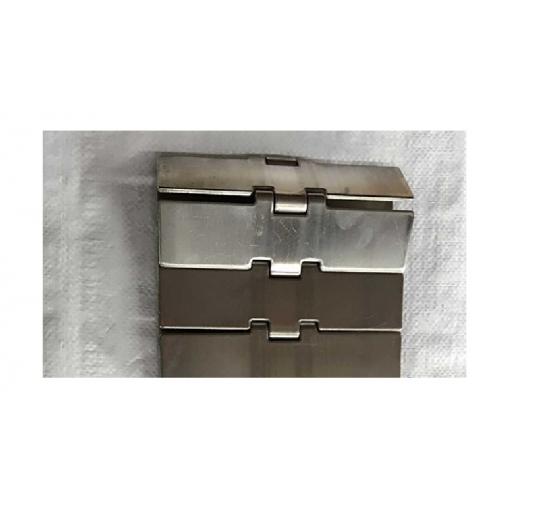 Stainless steel sanitary chain plate conveyor line straight conveyor