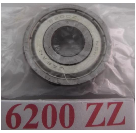 6200 Series Deep Groove Radial Ball Bearings