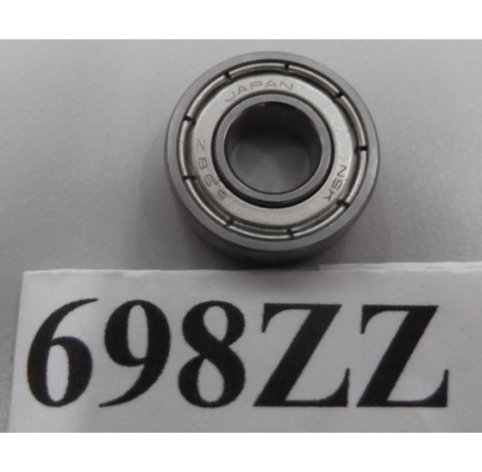 Miniature Shielded Bearing 690 series