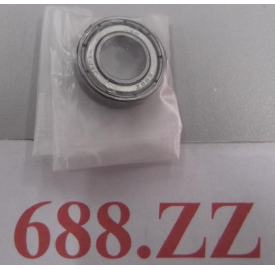 Shielded Miniature Deep Groove Radial Ball Bearings