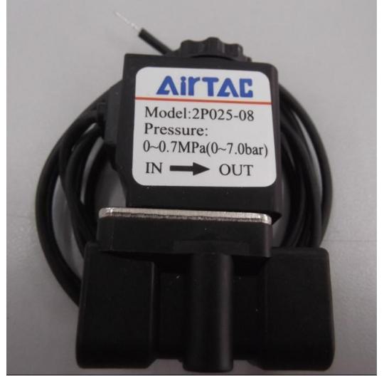 PLASTIC water air oil gas pneumatic Plastic solenoid valve 1/4 2 ways 220v